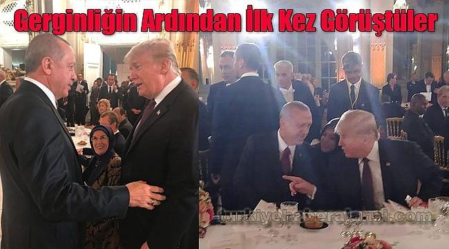 Erdoğan ve Trump Yüz Yüze Görüştü