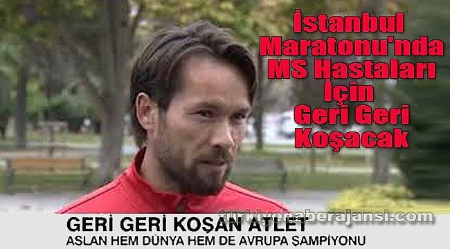 İstanbul Maratonu'nda MS hastaları için ters koşacak