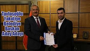 Tavlaşoğlu Yakutiye Belediyesi Başkan Aday Adayı