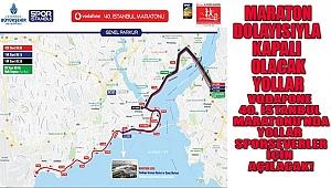 Vodafone 40. İstanbul Maratonu'nda Yollar Sporseverler İçin Açılacak