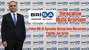 Yılın İlk 9 Ayında Brisa'nın İhracatı Yüzde 54 Arttı