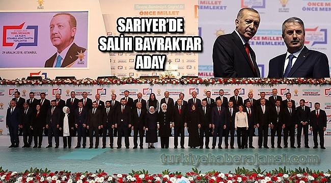 AK Parti Sarıyer Belediye Başkan Adayı, Salih Bayraktar