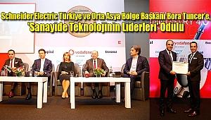 Bora Tuncer'e, 'Sanayide Teknolojinin Liderleri' Ödülü