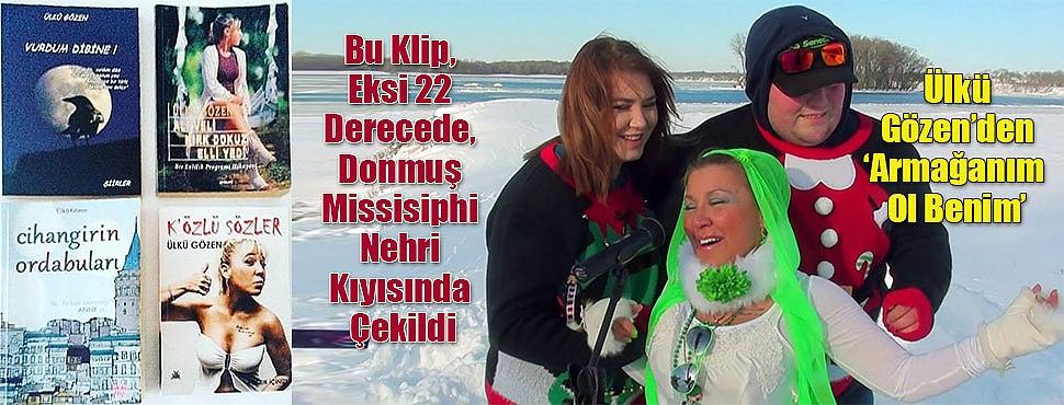 Bu Klip, Eksi 22 Derecede, Donmuş Missisiphi Nehri Kıyısında Çekildi