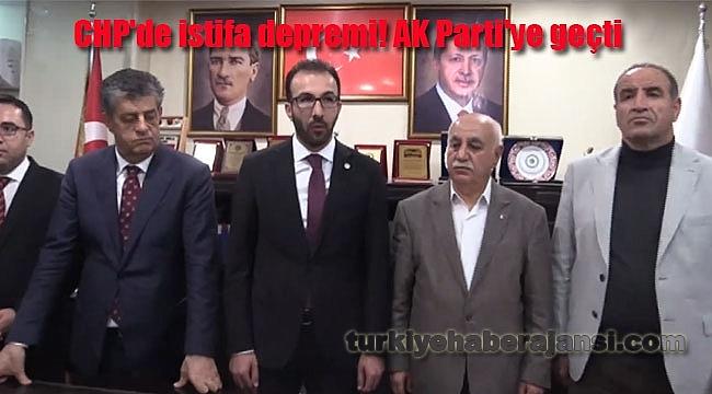 CHP'de İstifa Depremi! AK Parti'ye Geçti