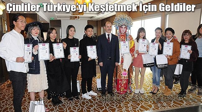 Çinliler Türkiye'yi Keşfetmek İçin Geldiler