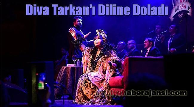 Diva Tarkan'ı Diline Doladı