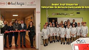 Henkel, Keşif Dünyası'nın Türkiye'deki İlk Merkezini Darüşşafaka'da Açtı