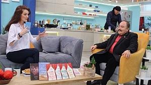 Pekcan Türkeş, Şemsa Deniz ile Sat-7 Türk TV Ekranlarında