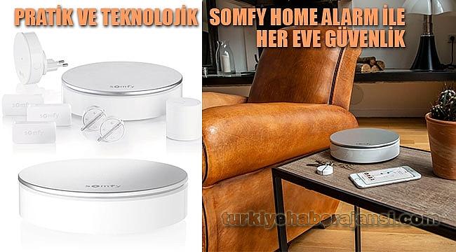 Somfy Home Alarm İle Her Eve Güvenlik