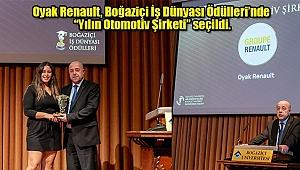 'Yılın Otomotiv Şirketi' Oyak Renault Oldu