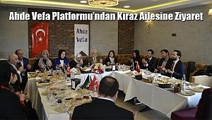 Ahde Vefa Platformu'na Kiraz Ailesinden Ziyaret