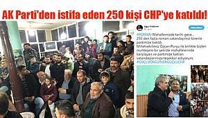 AK Parti'ye İsyan Etti, CHP'ye Katıldılar...
