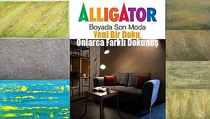 Alligator Boya'dan Yeni Bir Doku, Onlarca Farklı Dokunuş