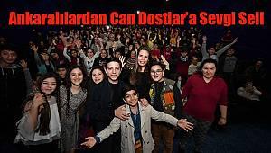Ankaralılardan Can Dostlar'a Sevgi Seli