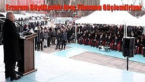 Erzurum Büyükşehir Araç Filosunu Güçlendiriyor