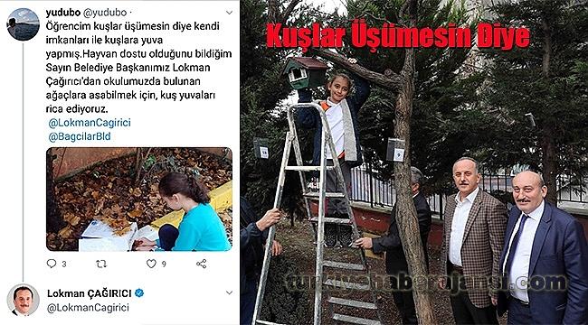 Eyşan'ın Sosyal Medya Çağrısına Başkan Çağrıcı Cevap Verdi