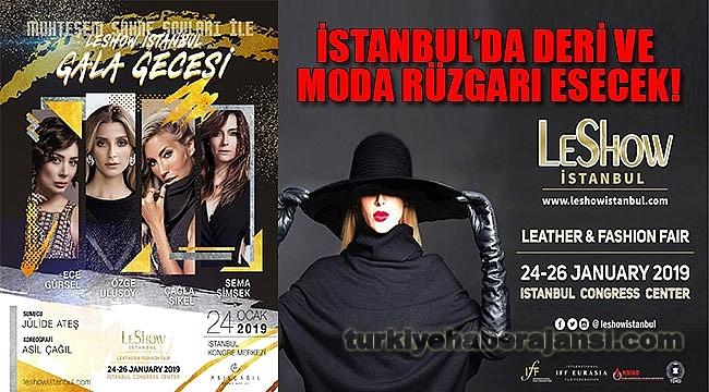 LESHOW, İstanbul'da Deri Ve Moda Rüzgarı Estirecek!
