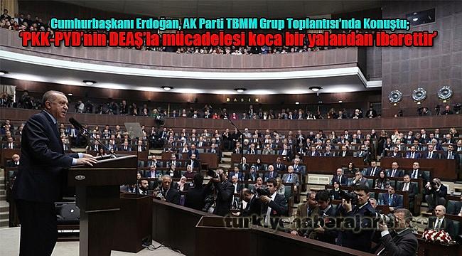 'PKK-PYD'nin DEAŞ'la Mücadelesi Koca Bir Yalandan İbarettir'