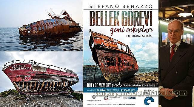 Stefano Benazzo'dan 'Bellek Görevi: Gemi Enkazları' Sergisi