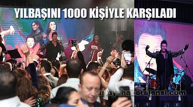 Yılbaşını 1000 Kişiyle Karşıladı
