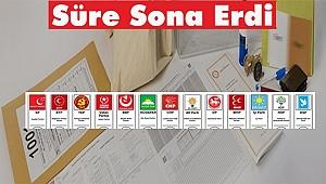 Aday Listelerini Seçim Kurullarına Bildirme Süresi Sona Erdi