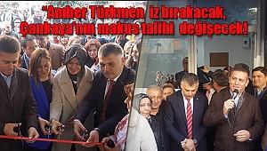 'Amber Türkmen'le Çankaya'nın Makus Talihi Değişecek'