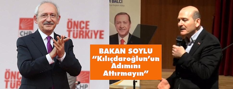 'Ankara Büyükşehir Belediyesi'ne Kılıçdaroğlu'nun Adımını Attırmayın'