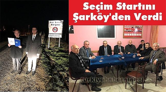 Başkanı Kadir Albayrak seçim Startını Şarköy'den Verdi