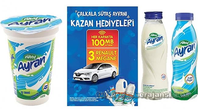 Çalkala Sütaş Ayranı, Kazan Renault Megane'ı