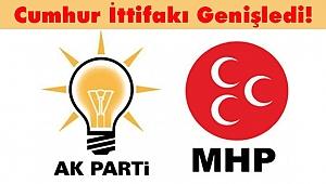 Cumhur İttifakı Genişledi! 4 il MHP'ye Bırakıldı...