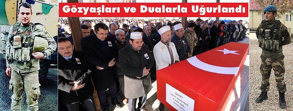 Erzurum, Şehidini Gözyaşları ve Dualarla Uğurladı