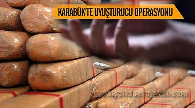 Karabük'te Narkotik Operasyonu