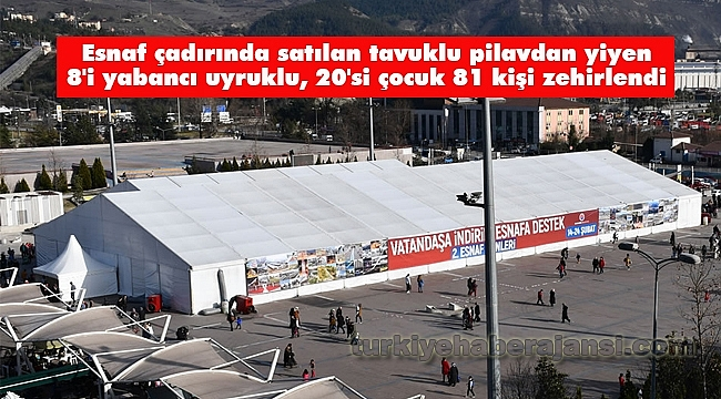 Karabük'te Tavuklu Pilav Yiyen 81 Kişi Zehirlendi