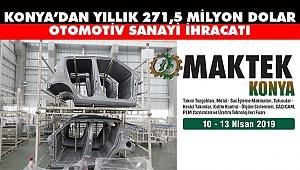 Konya'da Otomotiv Yan Sanayisi Büyümeye Devam Ediyor