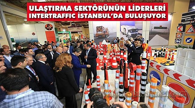 Sektörün Liderleri Intertraffic İstanbul'da