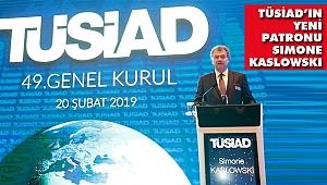 Simone Kaslowski TÜSİAD Yönetim Kurulu Başkanı Seçildi
