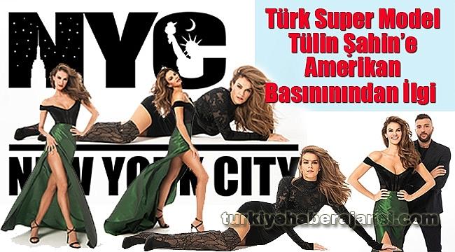 Türk Super Model Tülin Şahin Newyork'ta