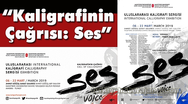 Uluslararası Kaligrafi Sergisi Duyurusu