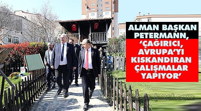 Alman Başkan Petermann,Çağırıcı İçin Oy İstedi