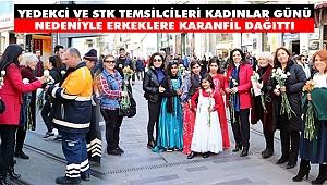 CHP'li Yedekci'den İstiklal'de 8 Mart Anması