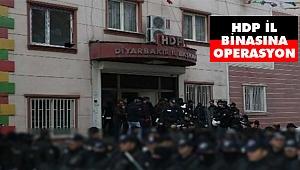 Diyarbakır'da HDP İl Binasına Operasyon: 7 Gözaltı