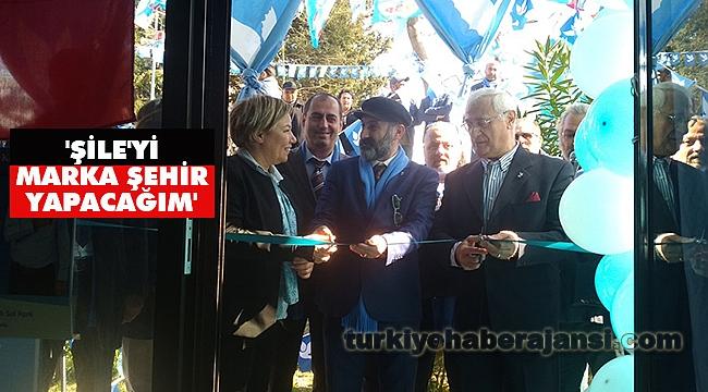 DSP'nin Şile Seçim Ofisi Açıldı
