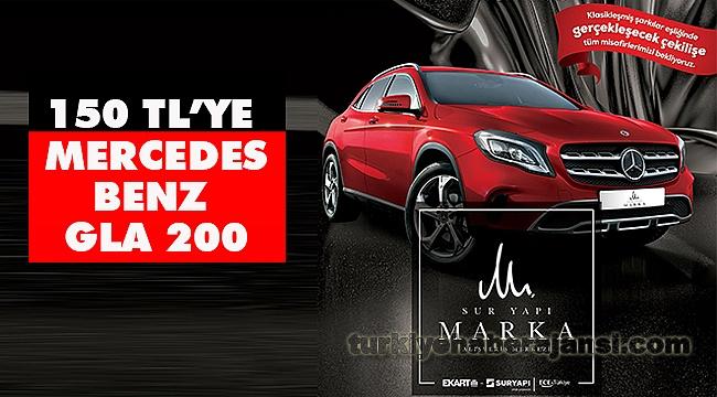 Sur Yapı Marka AVM'de Mercedes Benz 150 TL