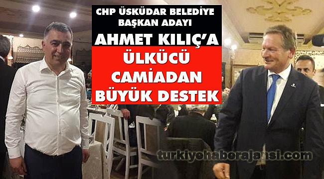 Ülkücü Camiadan CHP'li Başkan Adayına Tam Destek