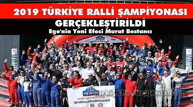 2019 Türkiye Ralli Şampiyonası Gerçekleştirildi