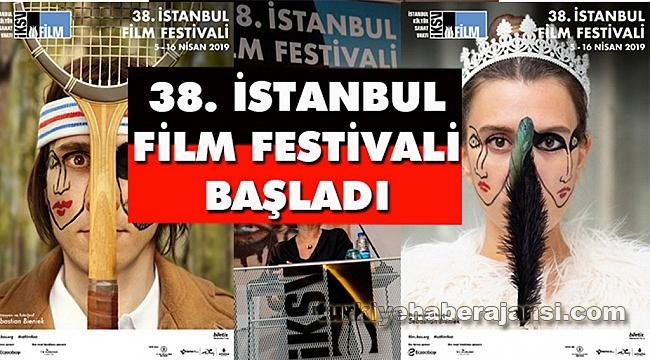 38. İstanbul Film Festivali Başladı