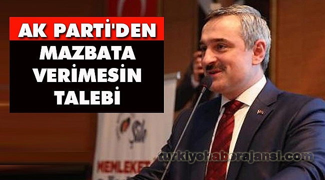 AK Parti'den Mazbata Verimesin Talebi