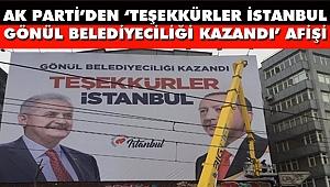 AK Parti İstanbul'u Afişlerle Donattı