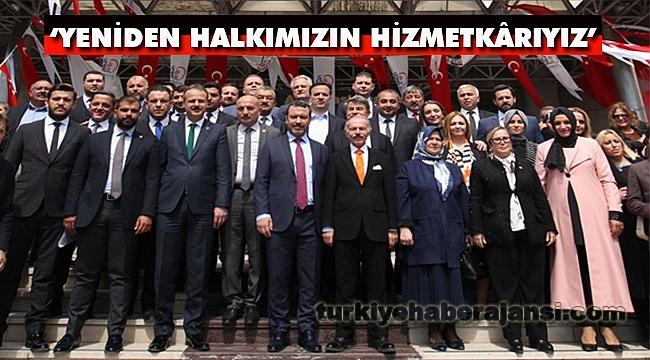Atila Aydıner, Mazbatasını Alarak Göreve Başladı